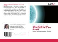 Portada del libro de La comunicación municipal en la era digital