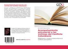 Acompañamiento psicosocial a las víctimas del Conflicto Colombiano kitap kapağı