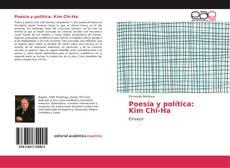 Capa do livro de Poesía y política: Kim Chi-Ha