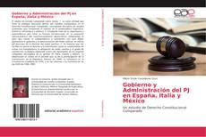 Gobierno y Administración del PJ en España, Italia y México kitap kapağı