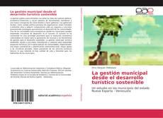 Portada del libro de La gestión municipal desde el desarrollo turístico sostenible