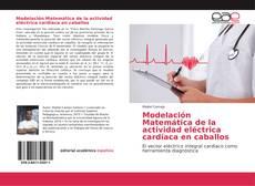 Bookcover of Modelación Matemática de la actividad eléctrica cardíaca en caballos