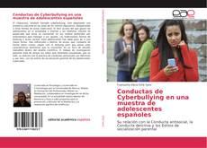 Bookcover of Conductas de Cyberbullying en una muestra de adolescentes españoles
