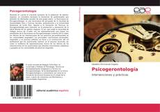 Portada del libro de Psicogerontología