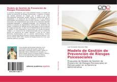 Bookcover of Modelo de Gestión de Prevención de Riesgos Psicosociales