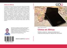 Bookcover of China en África