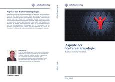 Обложка Aspekte der Kulturanthropologie