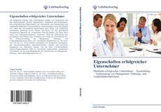 Bookcover of Eigenschaften erfolgreicher Unternehmer