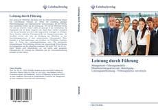 Buchcover von Leistung durch Führung