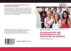 Borítókép a  La prevención del alcoholismo en la educación de adultos - hoz