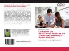 Bookcover of Campaña de Relaciones Públicas en la emisora municipal Radio Maboas