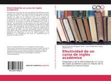 Capa do livro de Efectividad de un curso de inglés académico