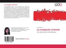 Buchcover von La conducta criminal