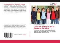 Capa do livro de Cultura Política en la Escuela Publica
