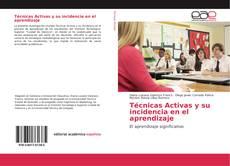 Capa do livro de Técnicas Activas y su incidencia en el aprendizaje