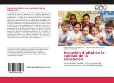 Обложка Inclusión digital en la calidad de la educación