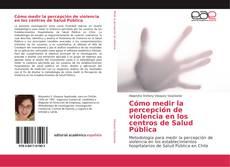 Bookcover of Cómo medir la percepción de violencia en los centros de Salud Pública