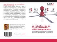 Portada del libro de La virtualización de las universidades públicas argentinas