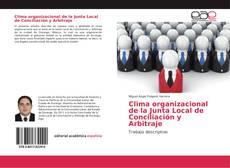 Portada del libro de Clima organizacional de la Junta Local de Conciliación y Arbitraje