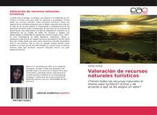 Capa do livro de Valoración de recursos naturales turísticos