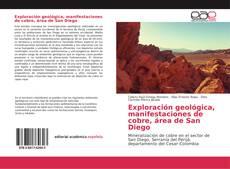 Buchcover von Exploración geológica, manifestaciones de cobre, área de San Diego