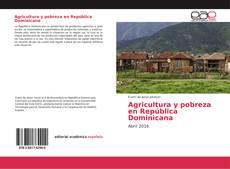 Portada del libro de Agricultura y pobreza en República Dominicana
