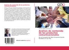 Portada del libro de Análisis de contenido de los productos comunicacionales