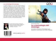 Buchcover von La criminología del enemigo