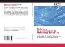 Buchcover von Síntesis y caracterización de materiales zeolíticos