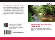 Portada del libro de Educación Ambiental y Geografía
