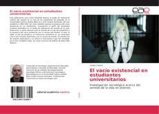 Capa do livro de El vacío existencial en estudiantes universitarios
