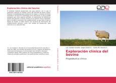 Couverture de Exploración clínica del bovino