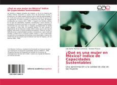 Bookcover of ¿Qué es una mujer en México? Indice de Capacidades Sustentables