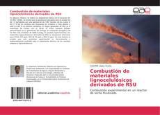 Portada del libro de Combustión de materiales lignocelulósicos derivados de RSU