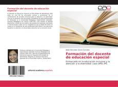 Bookcover of Formación del docente de educación especial