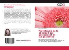 Обложка Prevalencia de la obesidad pre-gestacional enlas gestantes