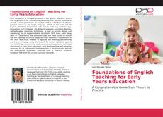 Capa do livro de Foundations of English Teaching for Early Years Education