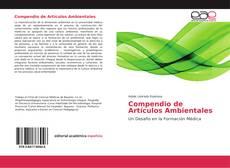 Compendio de Artículos Ambientales kitap kapağı
