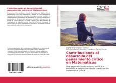 Portada del libro de Contribuciones al desarrollo del pensamiento crítico en Matemáticas