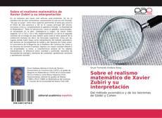 Bookcover of Sobre el realismo matemático de Xavier Zubiri y su interpretación