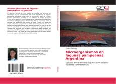 Portada del libro de Microorganismos en lagunas pampeanas, Argentina