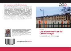 Buchcover von Un momento con la Criminología