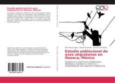 Bookcover of Estudio poblacional de aves migratorias en Oaxaca, México