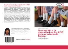 Bookcover of La atención a la diversidad en los CEIP de la provincia de Toledo