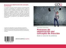 Buchcover von Procesos de objetivación del concepto de fracción