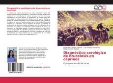Bookcover of Diagnóstico serológico de brucelosis en caprinos