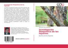 Copertina di Investigación fitoquímica de los líquenes