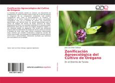 Zonificación Agroecológica del Cultivo de Orégano kitap kapağı