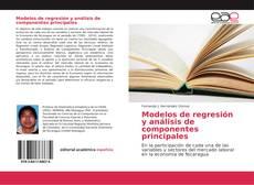 Modelos de regresión y análisis de componentes principales kitap kapağı
