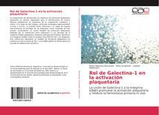 Rol de Galectina-1 en la activación plaquetaria kitap kapağı
